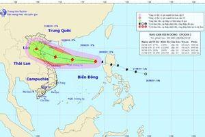 Bão Podul giật cấp 11 vào Biển Đông gây mưa lớn trong dịp nghỉ lễ 2.9