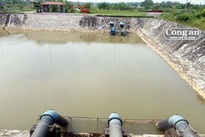 Độ nhiễm mặn trên sông Cầu Đỏ vẫn còn trên 1.000mg/l