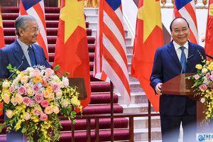 Tuyên bố chung Việt Nam - Malaysia nhân chuyến thăm chính thức của Thủ tướng Malaysia