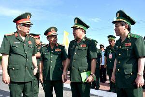 Lễ chào cột mốc chủ quyền và tuần tra chung tại khu vực cửa khẩu quốc tế Tịnh Biên