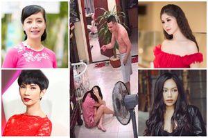 Sao Việt bức xúc trước clip võ sư đánh vợ mới sinh