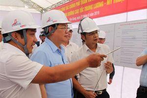 Chính phủ cam kết bố trí 2.186 tỷ đồng cho cao tốc Trung Lương - Mỹ Thuận
