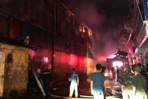 Toàn cảnh hiện trường vụ cháy tại Công ty bóng đèn phích nước Rạng Đông