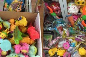 Đồ chơi Tết Trung thu cho trẻ em: Nở rộ thị trường, tù mù xuất xứ