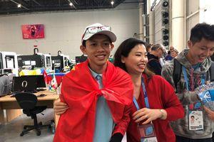 Thí sinh Việt Nam xuất sắc giành Huy chương Bạc trong kỳ thi Tay nghề thế giới 2019