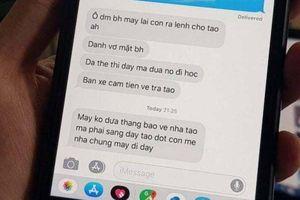 Võ sư bạo hành vợ bị tạm giữ hành chính, ngăn chặn hành vi nhắn tin đe dọa