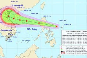 Ngành hàng hải Việt Nam chủ động ứng phó với cơn bão PODUL
