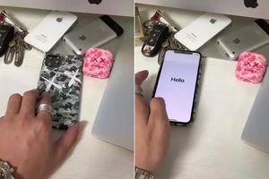 iPhone 11 Pro đã lộ diện 'bằng xương bằng thịt' trên tay người dùng