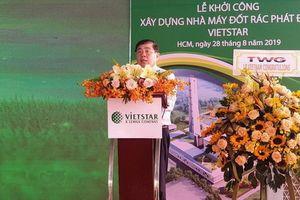 TP.HCM: Khởi công xây dựng Nhà máy đốt rác phát điện 2.000 tấn/ngày