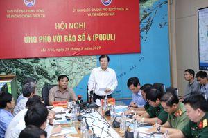 Phó Thủ tướng Trịnh Đình Dũng: Khẩn cấp triển khai phòng chống bão số 4