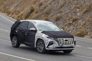 Hyundai Tucson 2021 lộ diện trên đường thử