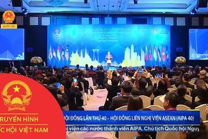 KHAI MẠC ĐẠI HỘI ĐỒNG LẦN THỨ 40 – HỘI ĐỒNG LIÊN NGHỊ VIỆN ASEAN (AIPA 40)