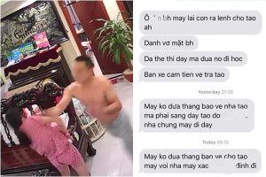 Lộ tin nhắn võ sư đe dọa gia đình vợ sau khi lên đồn công an