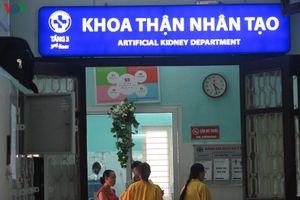 Người bệnh ký 'bản cam kết' chấp nhận rủi ro khi chạy thận ở Thái Bình
