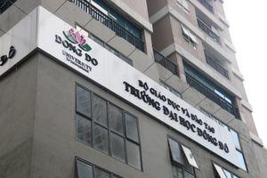 Sau sai phạm đào tạo 'chui': Sinh viên ĐH Đông Đô đi về đâu?
