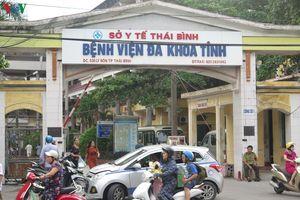 Sự cố chạy thận nhân tạo ở Thái Bình:Tạm thời an toàn, trong kiểm soát