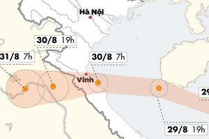 Bão số 4 tăng cấp, dự kiến đổ bộ Nghệ An - Quảng Bình