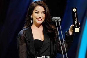 Trương Ngọc Ánh nhận giải Ngôi sao châu Á tại Hàn Quốc