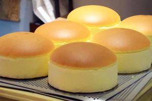 Bánh bông lan phô mai Nhật Bản được sản xuất số lượng lớn thế nào?