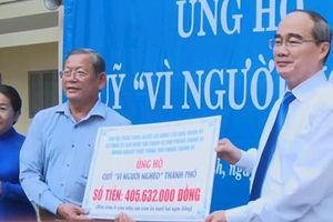 Hơn 98 tỷ đồng ủng hộ Quỹ Vì người nghèo TPHCM