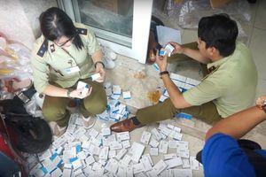 Đột kích căn nhà chứa lô tân dược nhập lậu khủng ở TPHCM