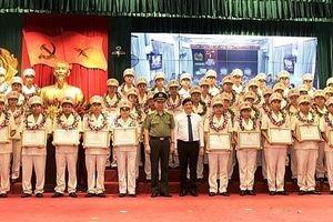 Lực lượng CAND sơ kết 3 năm thực hiện phong trào học tập và làm theo tư tưởng, đạo đức, phong cách Hồ Chí Minh