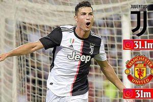 Hiệu ứng Ronaldo giúp Juventus đánh bật MU