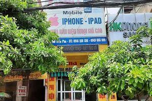 Truy tìm tên trộm đột nhập cửa hàng 'cuỗm' két sắt và hàng chục điện thoại
