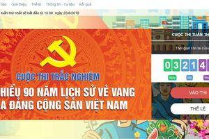Cuộc thi Tìm hiểu 90 năm lịch sử vẻ vang của Đảng Cộng sản Việt Nam