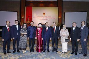 Thủ tướng và Phu nhân chủ trì Tiệc chiêu đãi nhân kỷ niệm 74 năm Ngày Quốc khánh 2/9