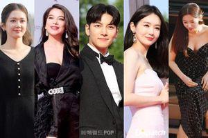 Thảm đỏ Seoul Drama Awards: Trương Ngọc Ánh - Anh Dũng tự tin, Ji Chang Wook quá phong độ, Jang Nara bị dàn mỹ nhân lấn át
