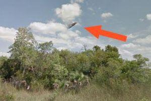 Hé lộ sự thật Google Street View phát hiện UFO trên bầu trời Mỹ