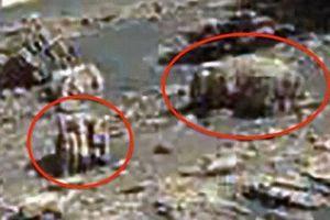 NASA vô tình làm lộ hình ảnh thiết bị cơ khí của người ngoài hành tinh trên sao Hỏa?