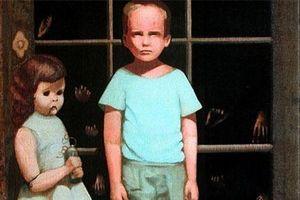 Chuyện rùng rợn về bức tranh 'ma ám' bán trên eBay