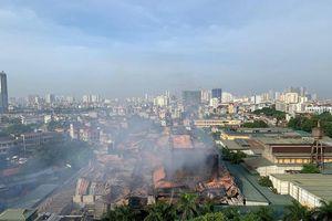 Còn lại gì sau vụ cháy Công ty bóng đèn phích nước Rạng Đông?