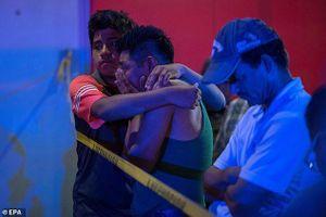 Ném bom xăng vào quán bar Mexico khiến ít nhất 23 người chết