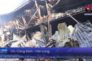 Thông tin vụ cháy ở Công ty bóng đèn phích nước Rạng Đông