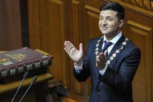 70% người dân Ukraine ủng hộ tân Tổng thống Zelensky, mức cao chưa từng có