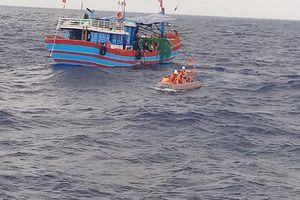 Tàu cá chở 14 ngư dân Quảng Bình gặp nạn, trôi dạt trên vùng biển gần tâm bão số 4