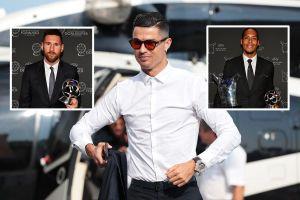 Ronaldo sành điệu đi nhận giải, để rồi... ra về tay trắng