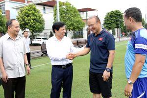 HLV Park Hang-seo phấn đấu... giảm cân trước đại chiến Thái Lan