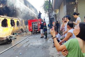 Vụ cháy Rạng Đông: Phường rút khuyến cáo vì sai thẩm quyền