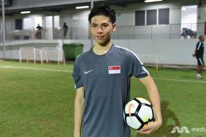 Sao trẻ Singapore bất ngờ để cờ Thái Lan trên trang cá nhân