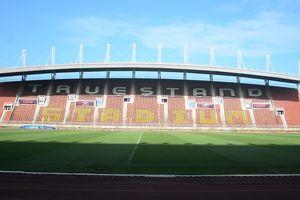 Mặt cỏ đẹp của sân tổ chức trận Thái Lan gặp Việt Nam