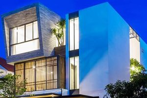 Ngôi nhà phố ở Nha Trang thiết kế phá cách đẹp ngỡ ngàng