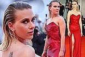 Cô đào gợi tình Scarlett Johansson khoe đường cong tròn đầy