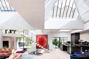 Căn nhà mái bằng đẹp không tỳ vết khiến nhà giàu cũng phải mơ ước
