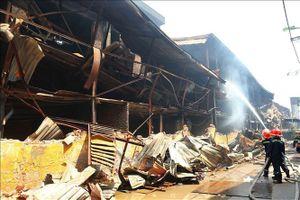 Rạng Đông thiệt hại 5% tài sản sau vụ cháy kho xưởng
