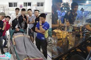 Tửu lượng yếu mà còn đòi 'tiếp cả bàn', thanh niên nhập viện cấp cứu vì 'liều mạng'