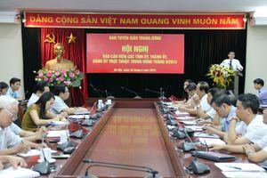 Đẩy mạnh tuyên truyền 50 năm thực hiện Di chúc của Chủ tịch Hồ Chí Minh